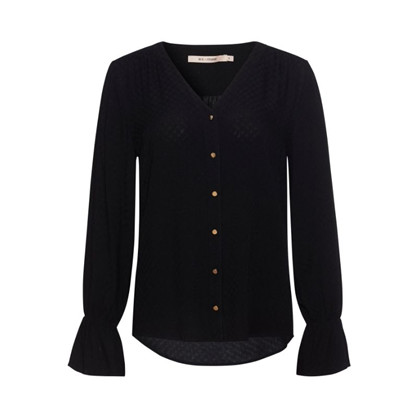 Rue De Femme Rossa Shirt Black