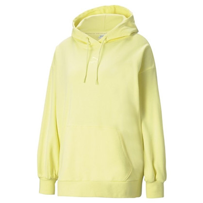 Puma Yellow Classics Oversized Hoodie