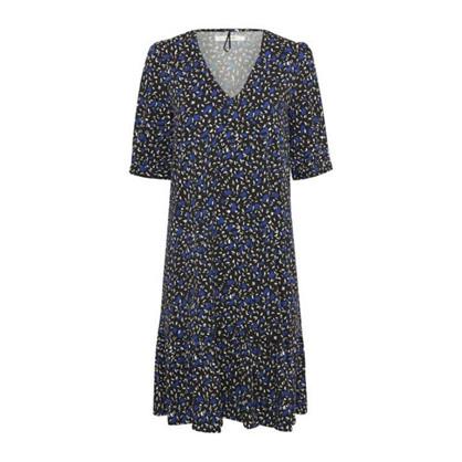 Gestuz Justina Blue Floral Dress