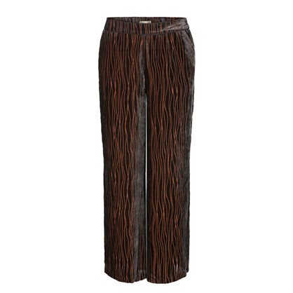 Mos Mosh Black Rita Velvet Pant