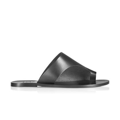 ATP Atelier Rosa Black Sandal
