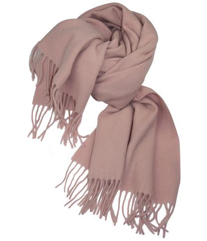 Mathlau Rosa Lambswool Tørklæde