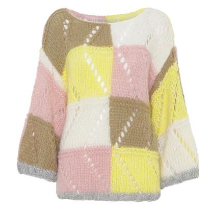 Dawn X Dare Pale Yellow Elvin Point Sweater