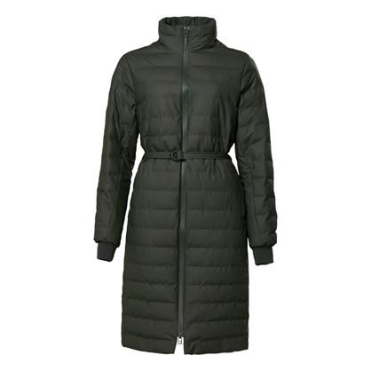 Rains Trekker W Coat Green