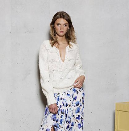 DawnXDare Hvid Gwendolyn Sweater