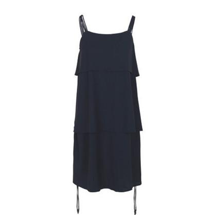 Blanche Navy Shift Dress