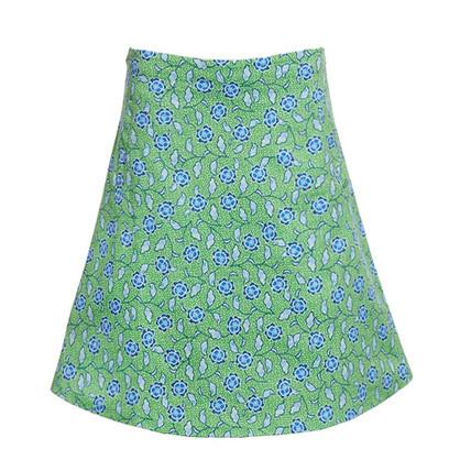 Du Milde Sofias Green Skirt