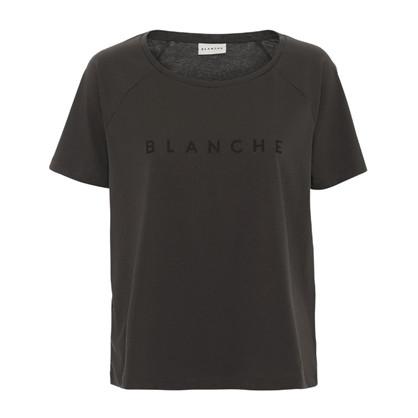Blanche Main Raglan Caviar T-Shirt