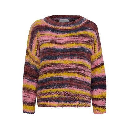 Denim Hunter Aria Knit Pullover Multi Color