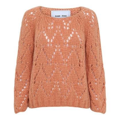 Dawn X Dare Peach Epoke LS Sweater