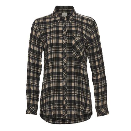Heartmade Ternet Camel/Sort Marlis Shirt