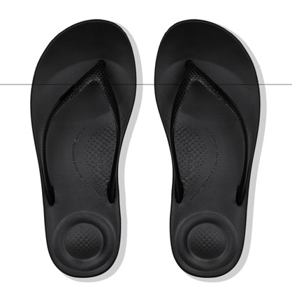 FitFlop Pearl Black Iqushion Tå Sandal