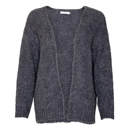 Noella Dark Grey Kala Knit Cardigan