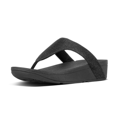 FitFlop  Black Lottie Glitzy