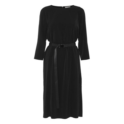 Norr Meghan Dress Black