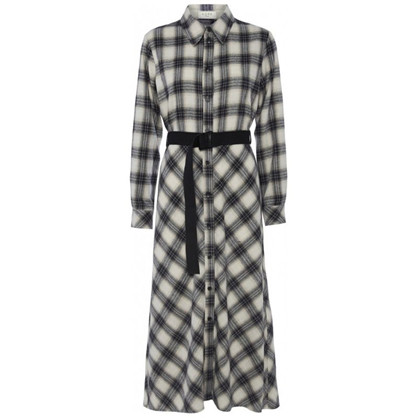 Norr Nyla Dress Navy Check