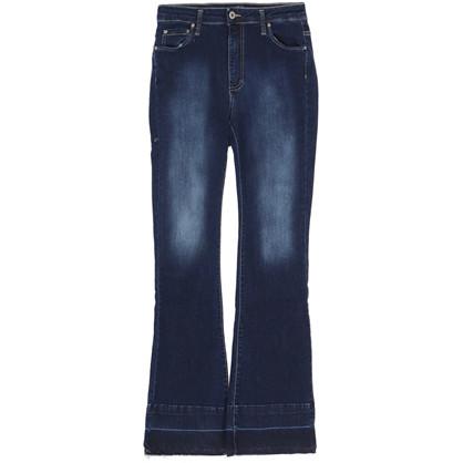 Please Longcut Raw Edge Jeans