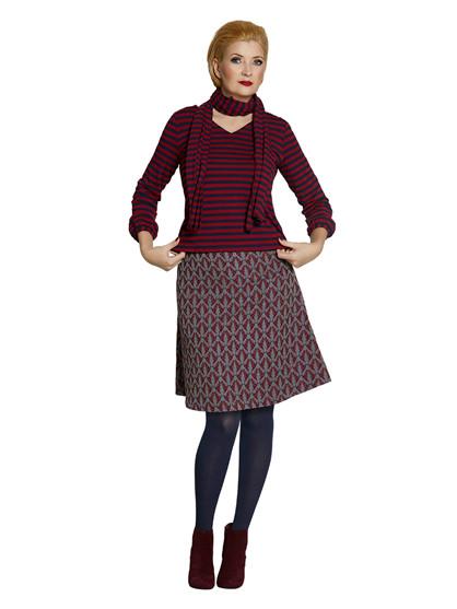 Du Milde Sofia Redbirds Skirt