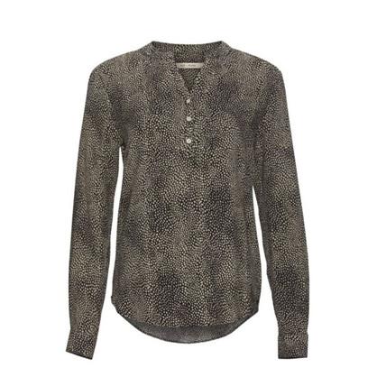Rue De Femme Dot Shirt Beige Mix