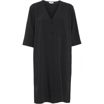 Norr Emery Dress Black