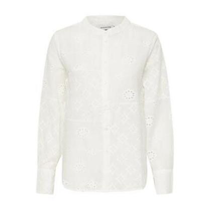 Denim Hunter Angela Shirt Optical White