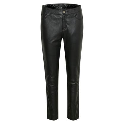 Denim Hunter The Leather Pant Black