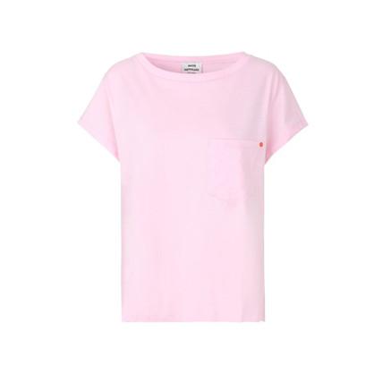 Mads Nørgaard Jersey Dip Torva  Pastel Rose T-Shirt
