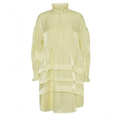 Norr Addi Dress Light Yellow