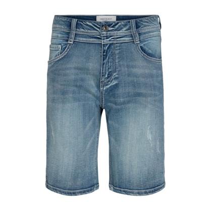 Freequent Annie Denim Shorts Light Blue