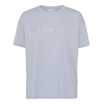 Blanche Main Hologram T-shirt Blue