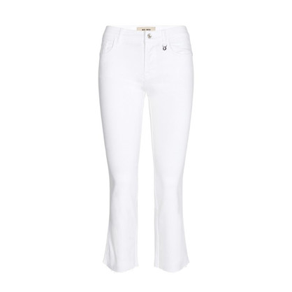 Mos Mosh Ashley White Jeans Chopped