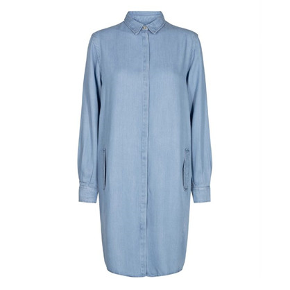 Mos Mosh Ellen Denim Tunic Light Blue