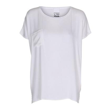 AJ 117 Project Kissie White T-Shirt