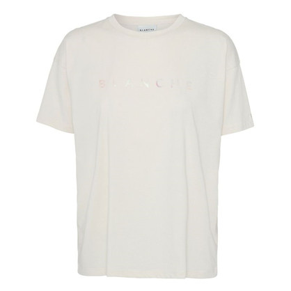 Blanche Main Hologram T-shirt White Sand