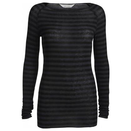 Gai+Lisva Amalie Stripe Dark Grey