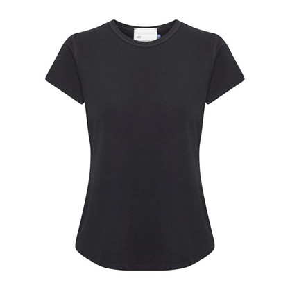 Denim Hunter The Modal Tee Black