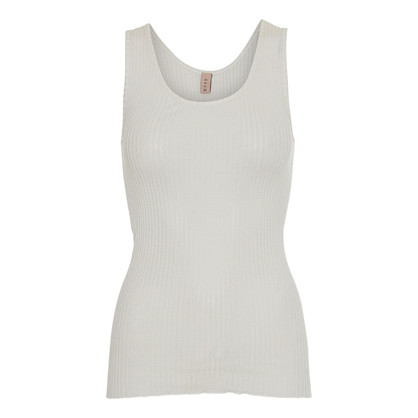 Gauge & Ply Off White Tank top