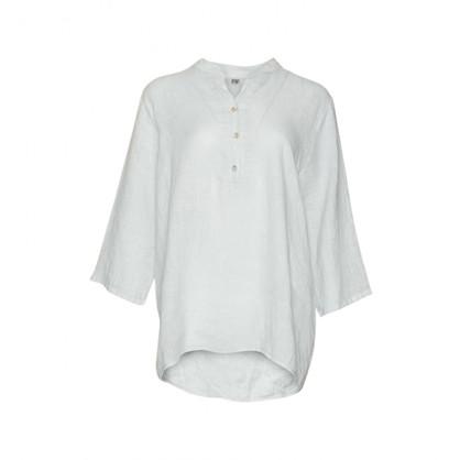 Tiffany Shirt Linen White