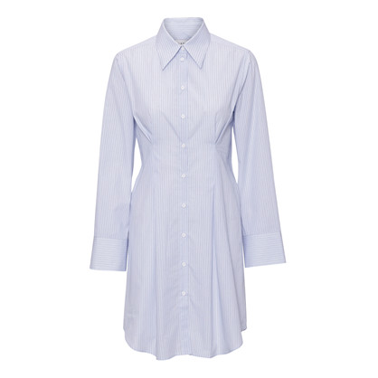 Blanche Marilyn Shirt Dress Fresh Blue