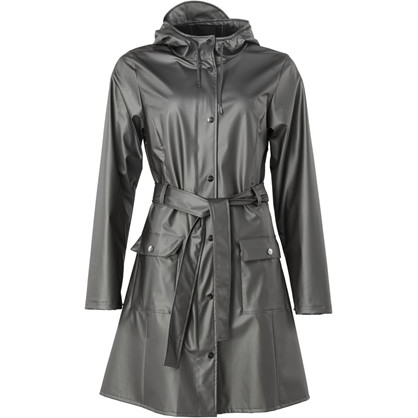 Rains Curve Jacket Metallic