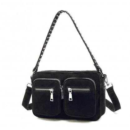 Noella Celina Bag Real Suede Black