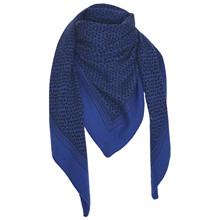 Gauge & Ply Blue Cecilie Scarf