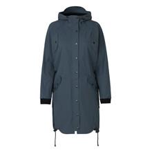Ilse Jacobsen Blå/Grå Erain Rain Coat