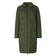 Ilse Jacobsen Olive Quilt Coat
