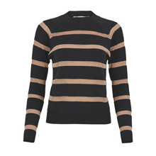 Rue de Femme Black Stripes Knit
