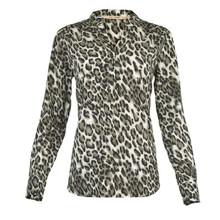Rue de Femme Leopard Doodle Shirt