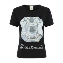 Heartmade Sort Erion T-Shirt