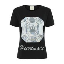 Heartmade Sort Erion T-Shirt