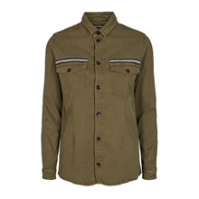 Mos Mosh Army Selby Uniform Shirt
