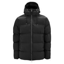 Rains Black Puffer Jacket